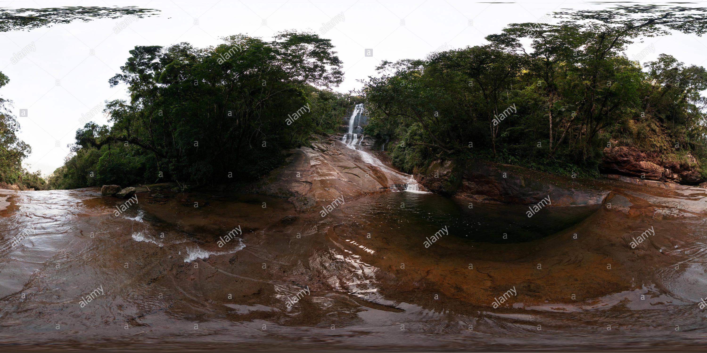 Salto dos Macacos - Marumbi State Park Imagen De Stock