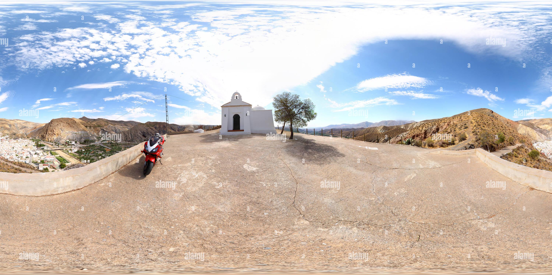 Ermita del Santo Cristo - Alboloduy Imagen De Stock