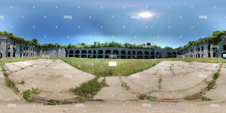 Fort gargantas dentro Coutyard Imagen De Stock