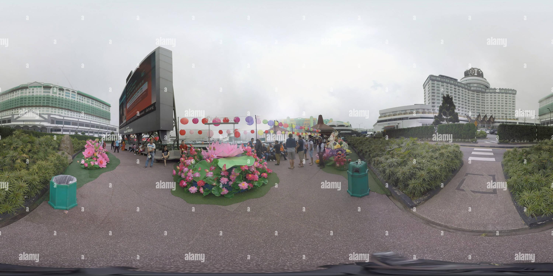 Jardín 360 Imagen De Stock
