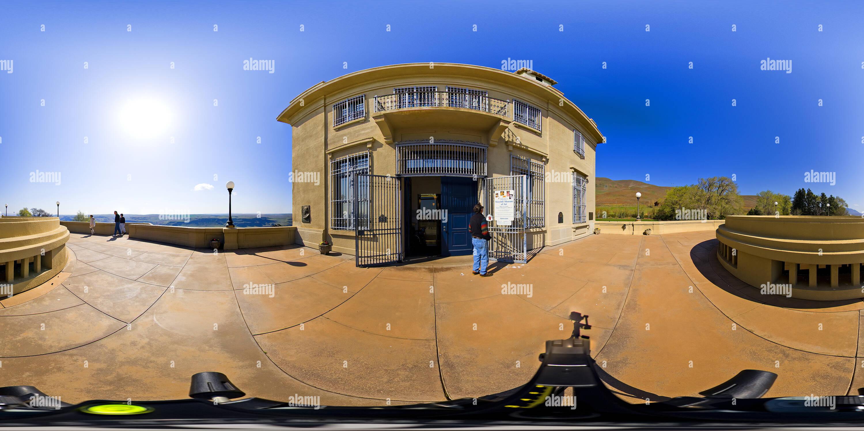 Maryhill entrada, Washington, EE.UU. Imagen De Stock