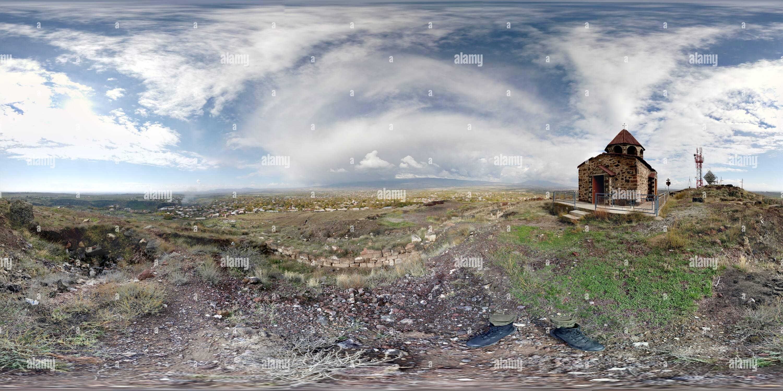 Vista desde el complejo Didikond Imagen De Stock