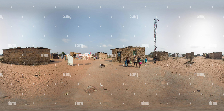 Aldeia em Angola Imagen De Stock
