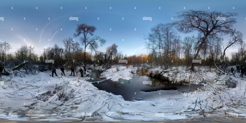 River_Usoditsa Imagen De Stock