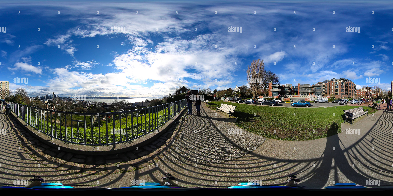 El Parque Kerry, Seattle, WA Imagen De Stock