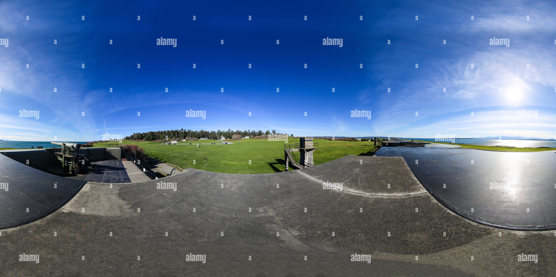 El Parque Estatal de Fort Casey Imagen De Stock