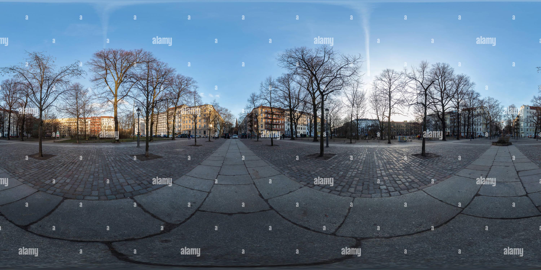 Berlin Mitte Arkonaplatz Panorama 2 160319 Ako Imagen De Stock
