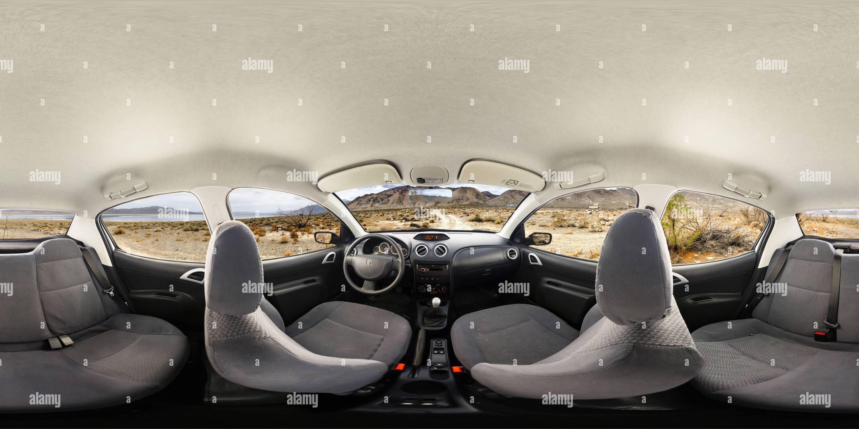Irán Khodro Runna interior de coches Imagen De Stock