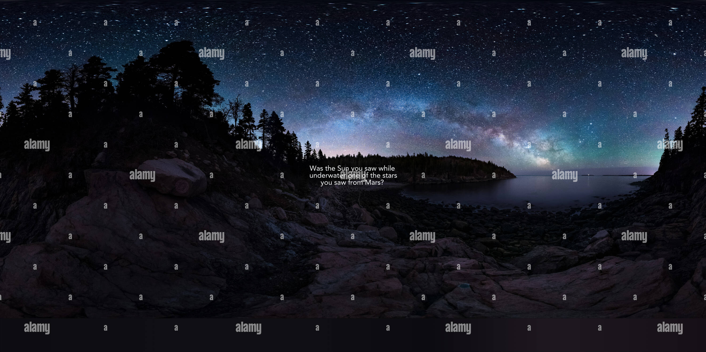 Nightskyquestion Imagen De Stock