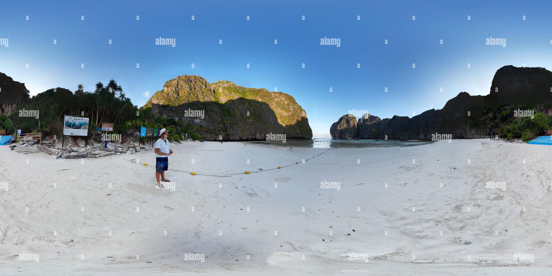 Maya Beach, Koh Phi Phi Leh. Tailandia. Imagen De Stock