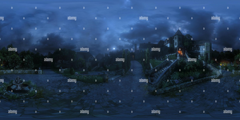 Jardín delante de 'Uncharted 4' Imagen De Stock