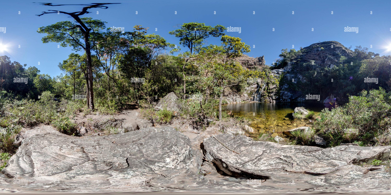 Cachoeira da Mata - Bosque Catarata Imagen De Stock