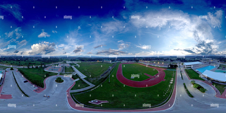Davao del norte del complejo deportivo Imagen De Stock
