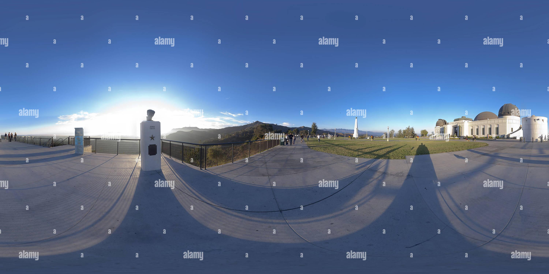 Observatorio Griffith, Los Angeles Imagen De Stock