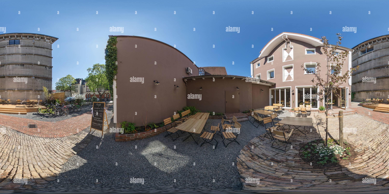 "Café ""hier und Jetzt"", Soest Imagen De Stock"