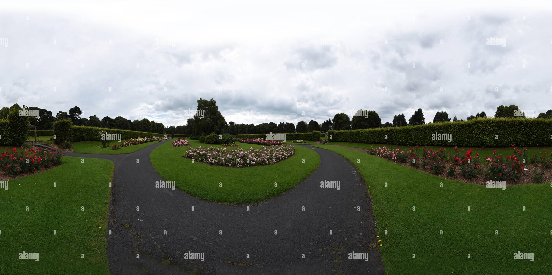 St Annes Park, el Jardín de Rosas, Clontarf Imagen De Stock