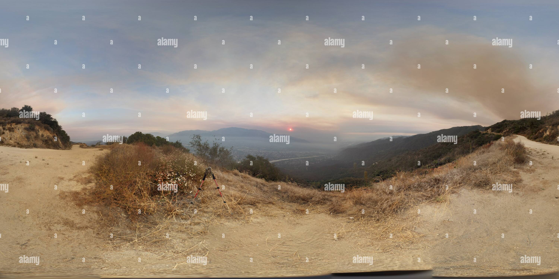 Smoky hellscape del Valle Cresenta Imagen De Stock