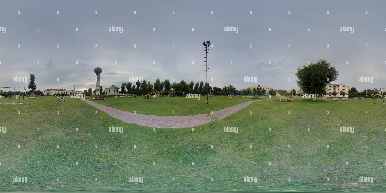 Jinnah Park , Parco del complejo de viviendas Imagen De Stock