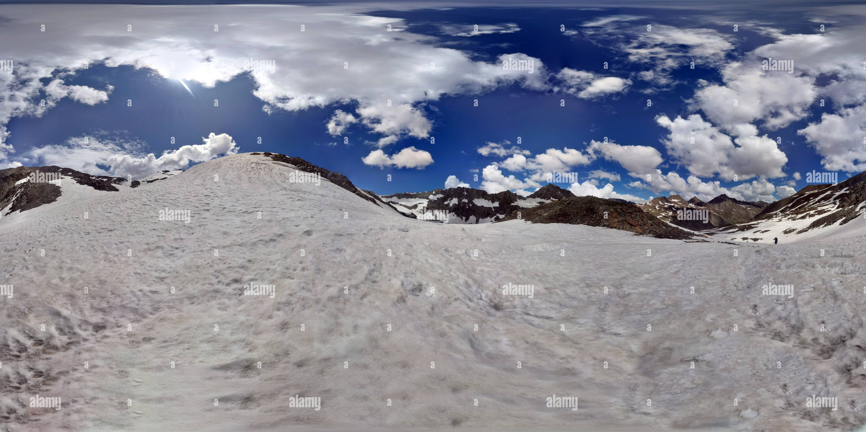 Cerca SirKhatta Pass Imagen De Stock