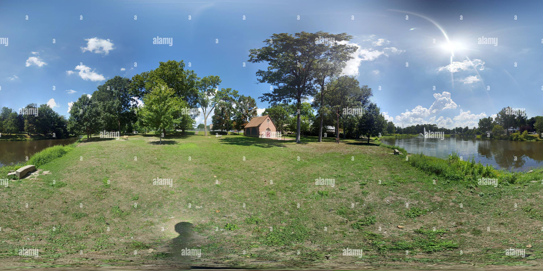 Ridley Park Lake tercera opinión Imagen De Stock