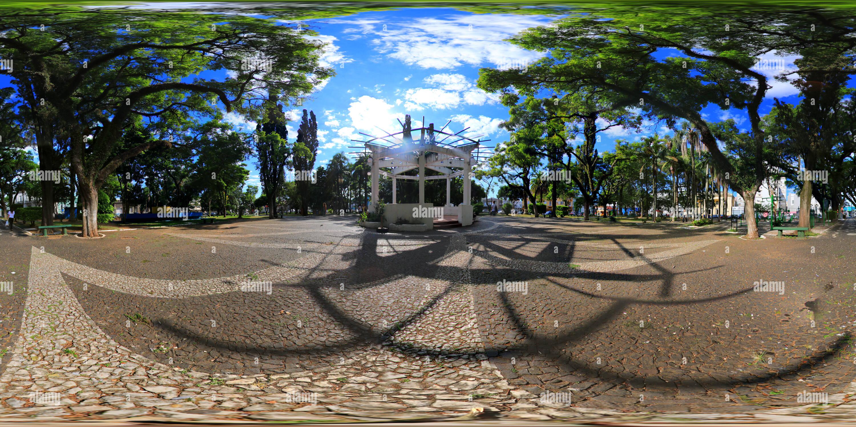 La Praça Coronel Pedro Osório, Santana do Livramento-BR Imagen De Stock