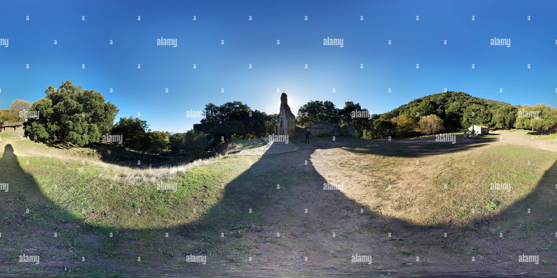 La Ermita de la Sauceda Imagen De Stock