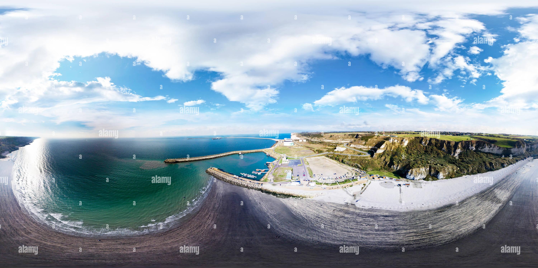 Playa de San jouin bruneval Imagen De Stock