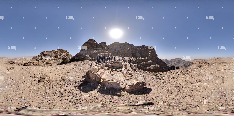 Petra - La Alta Ruta Imagen De Stock