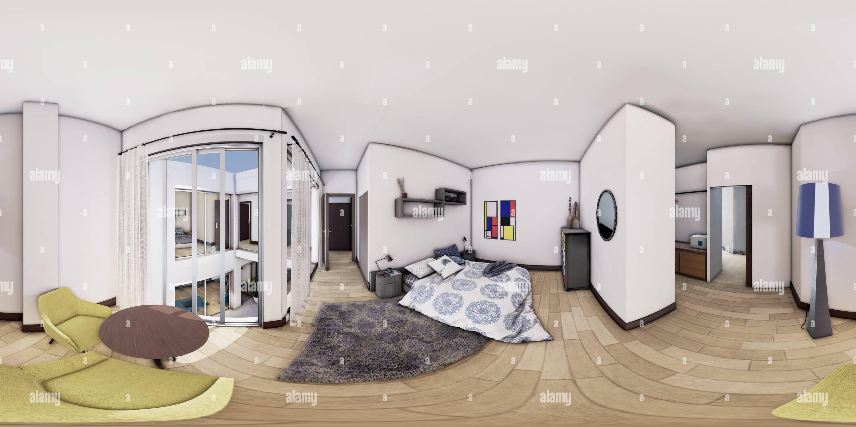 Dormitorio principal Imagen De Stock