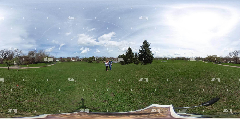 Lovelace Park , Evanston, IL Imagen De Stock