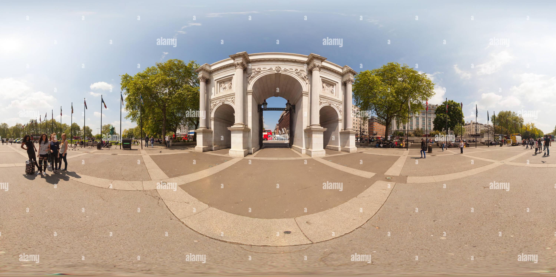 Marble Arch en Londres Imagen De Stock