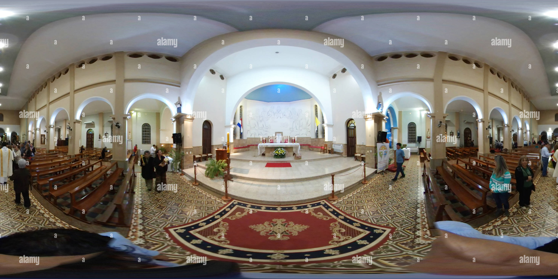 La Iglesia Catedral de la Encarnación Imagen De Stock
