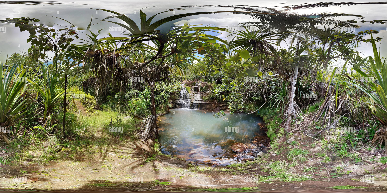 Alutom Falls, Guam Imagen De Stock