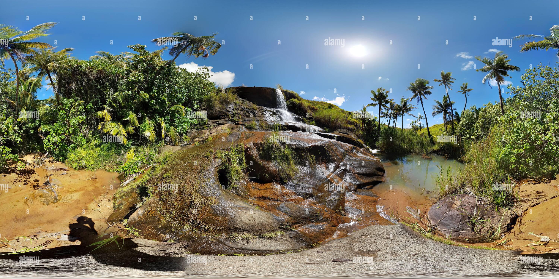 Fintasa Falls, Guam Imagen De Stock