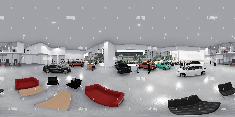 Nissan_360_Interior Imagen De Stock