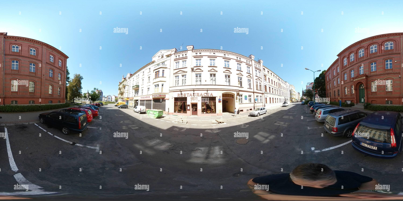 El restaurante Tivoli, Legnica, Polonia Imagen De Stock