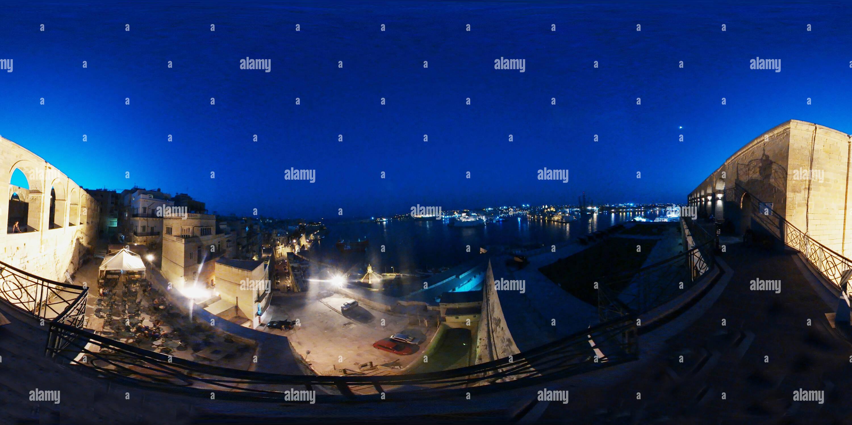Malta Grand Harbour Imagen De Stock
