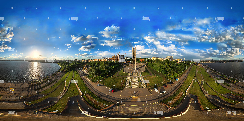 Monumento de personas amistad Imagen De Stock