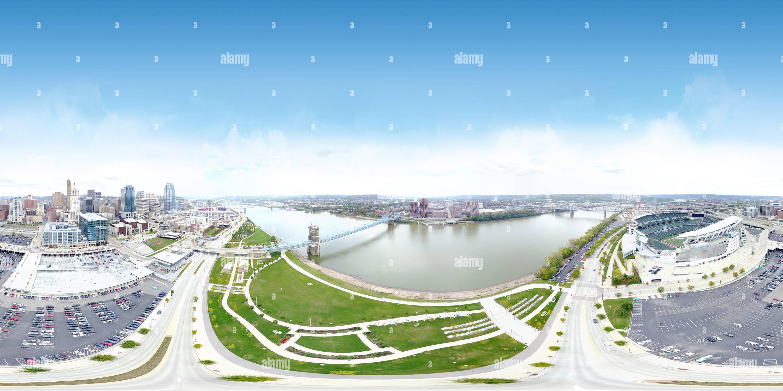 Cincinnati Riverfront Imagen De Stock