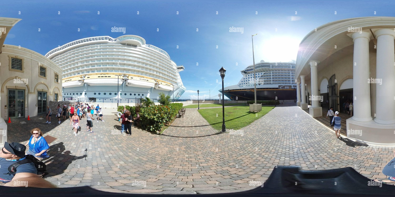Oasis de los mares y la fantasía de Disney Imagen De Stock