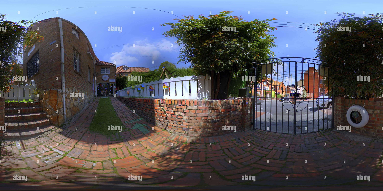 Espacio 01 Def 360 ciudades Imagen De Stock