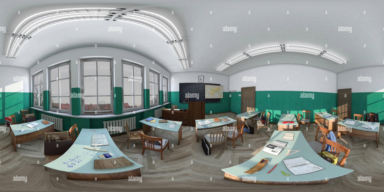 El auditorio de la Universidad de 70 años Imagen De Stock