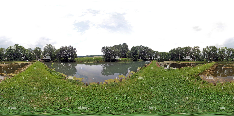 Leinefelde - Eichsfeld - Forellenteiche Worbis | Imagen De Stock