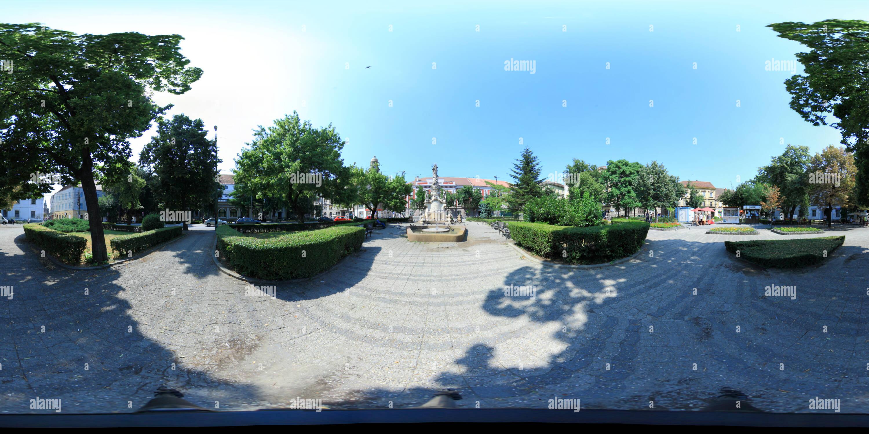 La Piata Unirii - Timisoara- 2011 -16 iulie Imagen De Stock