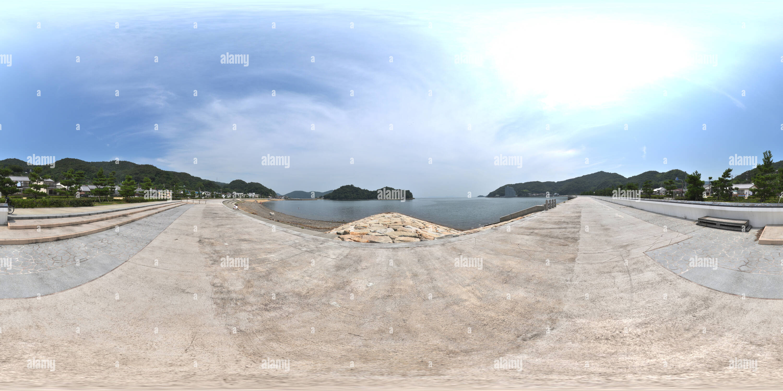 Playa en Sakoshi, Hyogo, Japón Imagen De Stock