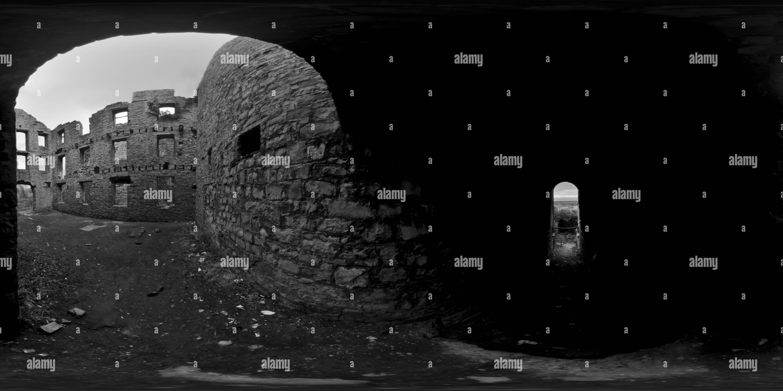 Obras de Cal Aberthaw Imagen De Stock