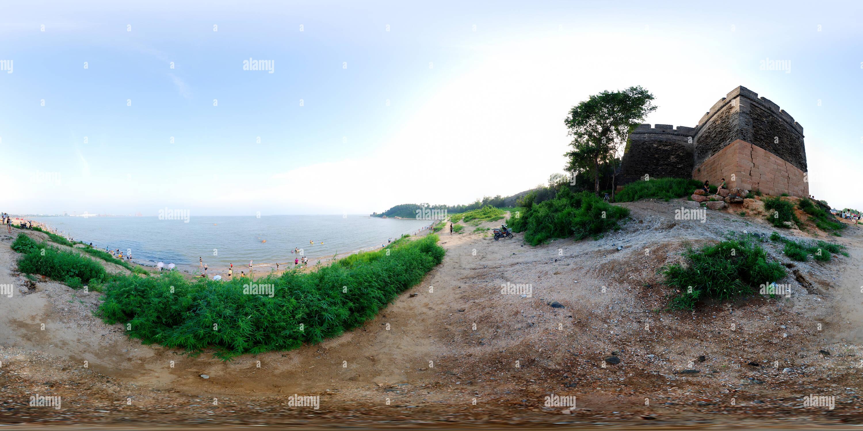 山海关海滨浴场 Imagen De Stock