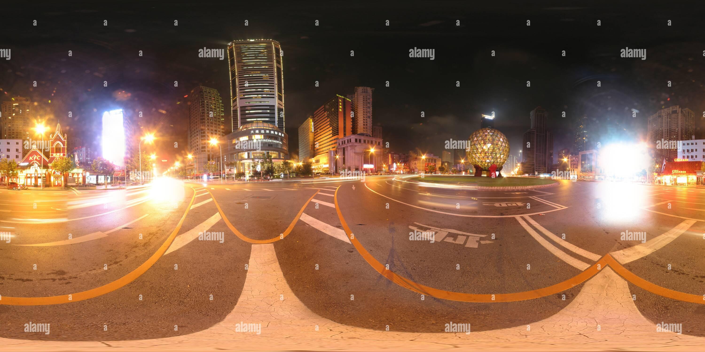 Plaza Youhao Dalian Imagen De Stock
