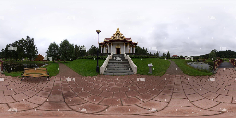 Rey Chulalongkorn Memorial en Ragunda Imagen De Stock