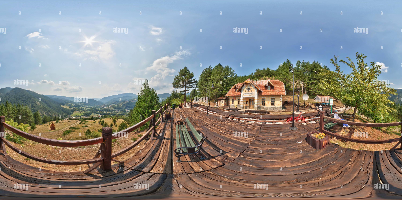 Estación de Tren Golubici Imagen De Stock